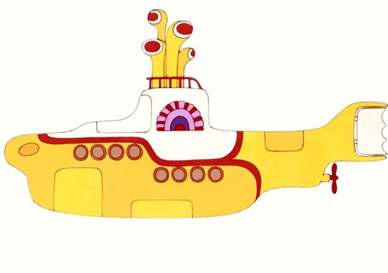 желтая подводная лодка слушать на английском